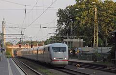 Northbound ICE (Schwanzus_Longus) Tags: bremen central train station modern railroad railway db deutsche bahn passenger express baureihe br class ice intercity inter city 401 br401