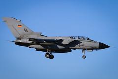 GAF Tornado IDS 45+88 (Steve Schilling) Tags: gaf luftwaffe germanairforce tornadoids fliegerhorstbüchel büchelairbase 4588 taktlwg33