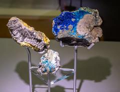 Colourful Minerals (Jocey K) Tags: artifacts tripukeroupe2019 june uk scotland thehunterianmuseum universityofglasgow inerals rocks shadows colour interior