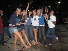 487214057GtkSFU_fs (Zappacity) Tags: semibarefoot oneflipflopon onesandalon toeprints teengirls posing night flash