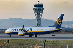 Ryanair B737-8AS EI-FZJ (José M. Deza) Tags: 20200102 b7378as bcn boeing eifzj elprat lebl planespotting ryanair spotter aircraft
