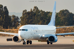 Blue Bird B737-85F 9H-SHO (José M. Deza) Tags: 20200102 9hsho b73785f bcn bluebird boeing elprat lebl planespotting spotter aircraft