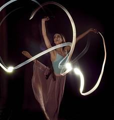 L1008413_David Keyes 2 (davidkeyes001) Tags: ballet dancer flashlight light trails
