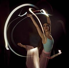 L1008416_David Keyes 2 (davidkeyes001) Tags: ballet dancer flashlight light trails