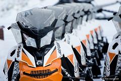 Snowmobile! (petergranström) Tags: approved snowmobile snöskoter hood huv strålkastare snow snö headlamp