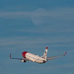 Norwegian B737-8 (José M. Deza) Tags: 20170203 bcn elprat lebl planespotting spotter aircraft