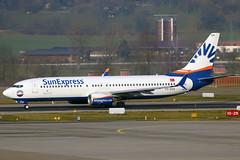 TC-SOA (GH@BHD) Tags: tcsoa boeing 737 738 737800 b737 b738 sunexpress xq sxs zurichairport zrh lszh zurich kloten aircraft aviation airliner
