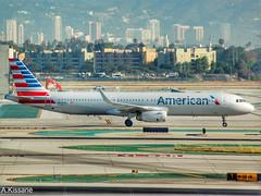 AMERICAN AIRLINES A321 N133AN (Adrian.Kissane) Tags: 6482 2042016 a321 n133an lax americanal