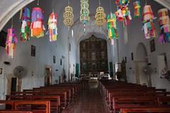Parroquia de San Bernardino de Siena, Valladolid (TravelKees) Tags: mexico yucatanpeninsula valladolid parish church interior