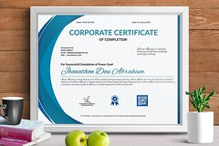 Certificate of Completion (designassistant) Tags: diplomas diplomasandcertificates employee event formalcertificates freephotoshopcertificates gold graduation office performance performer professionalcertificates certificatedesign achievement appraisal award awards business certificates certificate certifications corporate corporatecertificates diploma psdcertificates retire rewards royal salary success white medical medicalcertificate resumedesign modern creativecertificate uniquecertificate