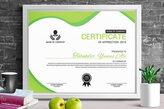 Certificate of Apprection Green (designassistant) Tags: diplomas diplomasandcertificates employee event formalcertificates freephotoshopcertificates gold graduation office performance performer professionalcertificates certificatedesign achievement appraisal award awards business certificates certificate certifications corporate corporatecertificates diploma psdcertificates retire rewards royal salary success white medical medicalcertificate resumedesign modern creativecertificate uniquecertificate