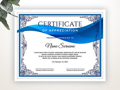 Certificate of Appreciation (7) (designassistant) Tags: diplomas diplomasandcertificates employee event formalcertificates freephotoshopcertificates gold graduation office performance performer professionalcertificates certificatedesign achievement appraisal award awards business certificates certificate certifications corporate corporatecertificates diploma psdcertificates retire rewards royal salary success white medical medicalcertificate resumedesign modern creativecertificate uniquecertificate