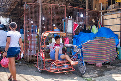 Resting (Beegee49) Tags: people street market tricycle resting man happy planet sony a6400 bacolod city philippines asia
