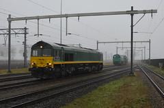 20.01.2020 (I); Op stap met een oude bekende (chriswesterduin) Tags: rrf railfeeding class66 emd trein zug train goederentrein güterzug cargo