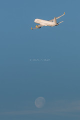 Vueling A320 (José M. Deza) Tags: 20170203 bcn elprat lebl planespotting spotter aircraft