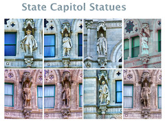 Connecticut State Capitol ~ Hartford ~ Connecticut (Onasill ~ Bill Badzo - New Format) Tags: connecticut state capitol hartford ct nrhp historic us national landmark architecture eastlake style gothic architect richard m upjohn bushnell park historical tours attraction dome exterior building onasill downtown winthrop