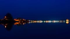 Feeling blue... (mike | MKvip.photo) Tags: sony⍺7rmarkii sony⍺7rii sonyilce7rm2 sonyalpha7rm2 sonyalpha sony alpha emount ⍺7iii ilce7rm2 ibis sigmafe50mmƒ14dghsm|a sigma art 50mmƒ14 availablelight naturallight night nightlights longexposure aperturestars langzeitbelichtung nacht nachtaufnahme spiegelungen water pond lake baggersee industrial reflections winter neupotz germany europe mth mkvip sigmafe50mmƒ14dghsm|art