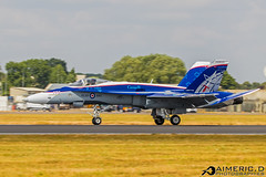 """McDonnell Douglas CF-18 """"NORAD"""" - Royal Canadian Air Force (RCAF) (Aimeric D. Photographies) Tags: avion plane spotter airshow meeting riat fairford"""