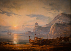 Johann Christian Dahl - Morning on the Shores of the Island of Ischia, 1822 at Muzeum Narodowe we Wrocławiu - Wroclaw Poland (mbell1975) Tags: wroclaw lowersilesian poland johann christian dahl morning shores island ischia 1822 muzeum narodowe we wrocławiu breslau wrocław vratislav national museum museo musée musee museu musum müze museet finearts fine arts gallery gallerie beauxarts beaux galleria painting dutch flemish golden age grand masters
