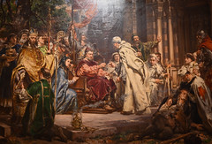 Jan Matejko - Piotr Wlast Dunin Brings the Cistercian Monks to Poland, 1888 at Muzeum Narodowe we Wrocławiu - Wroclaw Poland (mbell1975) Tags: wroclaw lowersilesian poland jan matejko piotr wlast dunin brings cistercian monks 1888 muzeum narodowe we wrocławiu breslau wrocław vratislav national museum museo musée musee museu musum müze museet finearts fine arts gallery gallerie beauxarts beaux galleria painting polish painter