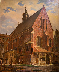 Aleksander Gryglewski - St Barbara Church in Krakow, 1862 at Muzeum Narodowe we Wrocławiu - Wroclaw Poland (mbell1975) Tags: wroclaw lowersilesian poland aleksander gryglewski st barbara church krakow 1862 muzeum narodowe we wrocławiu breslau wrocław vratislav national museum museo musée musee museu musum müze museet finearts fine arts gallery gallerie beauxarts beaux galleria painting polish painter