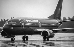 British Midland Boeing 737-500 (hjakse) Tags: landvetter västragötalandslän sverige esgg got flygplats bma britishmidland boeing 737 b737 737500