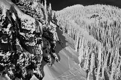 Winter: My Secret (@GilAegerter / klahini.com) Tags: mountains snow skiing mountainlife monochrome mono blackandwhite blackandwhitephotography poetry nikon nikkor nikond5500 20mmf35ais
