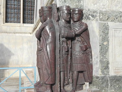 Diocletian's tetrarchy - 2 (dimitar.illiev) Tags: roman emperors sculpture ancient late antique empire