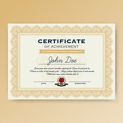 certificate-template-design (designassistant) Tags: diplomas diplomasandcertificates employee event formalcertificates freephotoshopcertificates gold graduation office performance performer professionalcertificates certificatedesign achievement appraisal award awards business certificates certificate certifications corporate corporatecertificates diploma psdcertificates retire rewards royal salary success white medical medicalcertificate resumedesign modern creativecertificate uniquecertificate