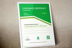 Certificate of Completion (6) (designassistant) Tags: diplomas diplomasandcertificates employee event formalcertificates freephotoshopcertificates gold graduation office performance performer professionalcertificates certificatedesign achievement appraisal award awards business certificates certificate certifications corporate corporatecertificates diploma psdcertificates retire rewards royal salary success white medical medicalcertificate resumedesign modern creativecertificate uniquecertificate