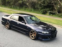 Nissan R34 | Tandems (Kansei Wheels) Tags: nissan r34 skyline gtr r34gtr jdm wheels kansei kanseiwheels