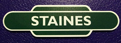 IMGP5655 (Steve Guess) Tags: british railways totem southern region railway station signs
