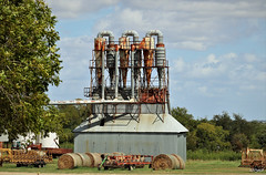 Tall and Rusty (Reminds me of...) Tags: rmo texas buckholts industrial rust