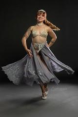 Nicole (austinspace) Tags: woman portrait model spokane washington studioj dancer redhead performer bellydancer bellydance lingerie retro pinup