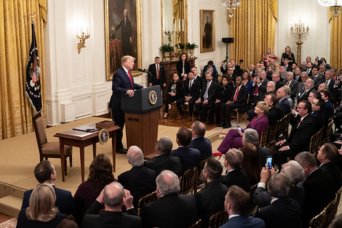 President Trump Delivers Remarks to Mayo by The White House, on Flickr