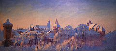 Julian Falat - Krakow in Winter, 1908 at Muzeum Narodowe we Wrocławiu - Wroclaw Poland (mbell1975) Tags: wroclaw lowersilesian poland julian falat krakow winter 1908 muzeum narodowe we wrocławiu breslau wrocław vratislav national museum museo musée musee museu musum müze museet finearts fine arts gallery gallerie beauxarts beaux galleria painting polish painter