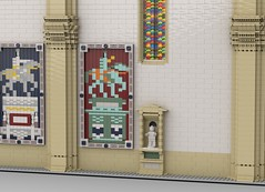 Florence Cathedral North Wall 5 (eljcqjen88) Tags: florence cathedral duomo lego moc wip interior