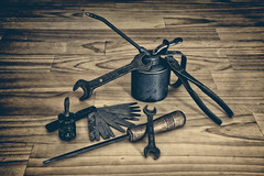 Tools (Erich Schieber) Tags: australia stilllife tools fauxvintage
