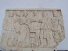 Depiction of Roman sacrifice (dimitar.illiev) Tags: ancient relief sacrifice roman religion sarcophagus funerary monument
