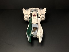 B3 Zodiac (75248 + 75249 Combiner) (MySnailEatsPizza) Tags: lego star wars ship spaceship starship starwars moc custom fighter wing awing y cool build combiner episode 9 skywalker connix