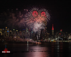 2020 Chinese Lunar New Years Fireworks (42 of 43) (bkrieger02) Tags: fireworks fireworksphotography nightphotography longexposure chinesenewyear happynewyear lunarnewyear yearoftherat rat hudsonriver nyc newyorkcity manhattan skyline esb empirestatebuilding hamiltonpark weehawken nj newjersey grucci gruccifireworks teamcanon canonusa shotoncanon 7dmkii sigma sigmaphoto sigmaart artlens 24105 colors colorful reflection red