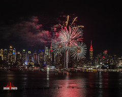 2020 Chinese Lunar New Years Fireworks (27 of 43) (bkrieger02) Tags: fireworks fireworksphotography nightphotography longexposure chinesenewyear happynewyear lunarnewyear yearoftherat rat hudsonriver nyc newyorkcity manhattan skyline esb empirestatebuilding hamiltonpark weehawken nj newjersey grucci gruccifireworks teamcanon canonusa shotoncanon 7dmkii sigma sigmaphoto sigmaart artlens 24105 colors colorful reflection red