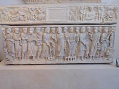 Sarcophagus of Marcus Claudianus (dimitar.illiev) Tags: ancient roman sarcophagus old new testament biblical late antique marcus claudianus funerary monument bible