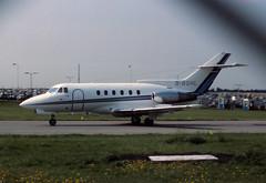 BAe 125-600B (Pentakrom) Tags: luton airport british aerospace hawker siddeley bae 125 gbshl