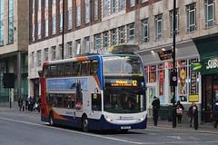 Stagecoach 12085 / NK11 DJZ (TEN6083) Tags: bus buses nebuses transport publictransport stagecoach stagecoachnortheast stagecoachinnewcastle newcastle 12085 alexanderdennis trident2 enviro400hybrid nk11djz
