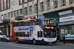 Stagecoach 19381 / NK58 AEV (TEN6083) Tags: bus buses nebuses transport publictransport stagecoach stagecoachnortheast stagecoachinnewcastle newcastle 19381 alexanderdennis trident2 enviro400 nk58aev
