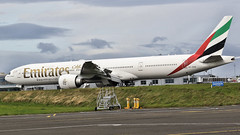 A6-ENA EMIRATES BOEING 777 (toowoomba surfer) Tags: jet aeroplane aviation aircraft airline airliner ncl
