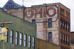 Ghost Ohio (GmanViz) Tags: gmanviz color sign columbus ohio sonya6000 ghostsign building