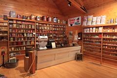 Mackenzie Crossroads Museum (Dawn Coyote) Tags: mackenzie crossroads museum high level building interior wood store