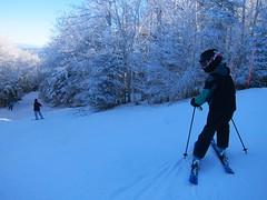 Heading Into Whistler (Joe Shlabotnik) Tags: 2020 snow skiing vermont january2020 violet everett proudparents winter okemo sue 60225mm